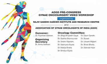 AOGD PRE-CONGRESS GYNAE ONCOSURGERY VIDEO WORKSHOP