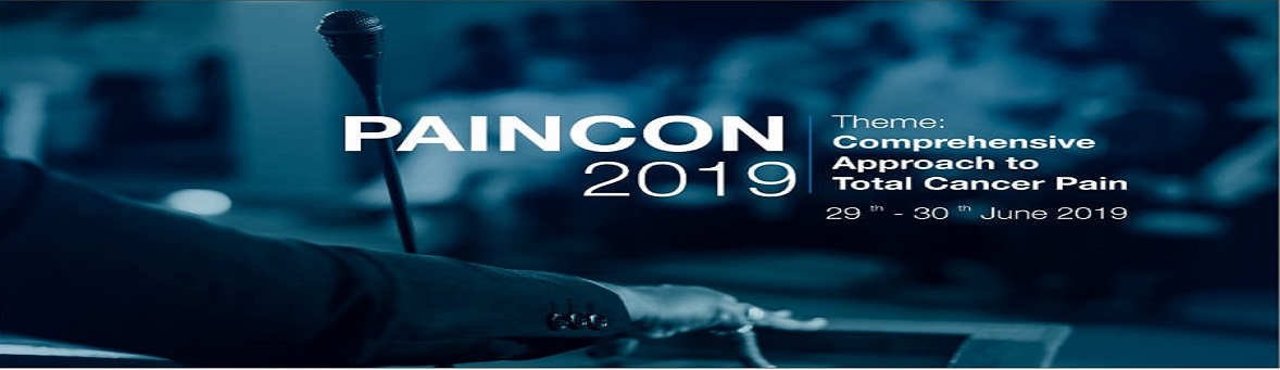 """PAINCON-2019 """"Comprehensive Approach to Total Cancer Pain"""""""