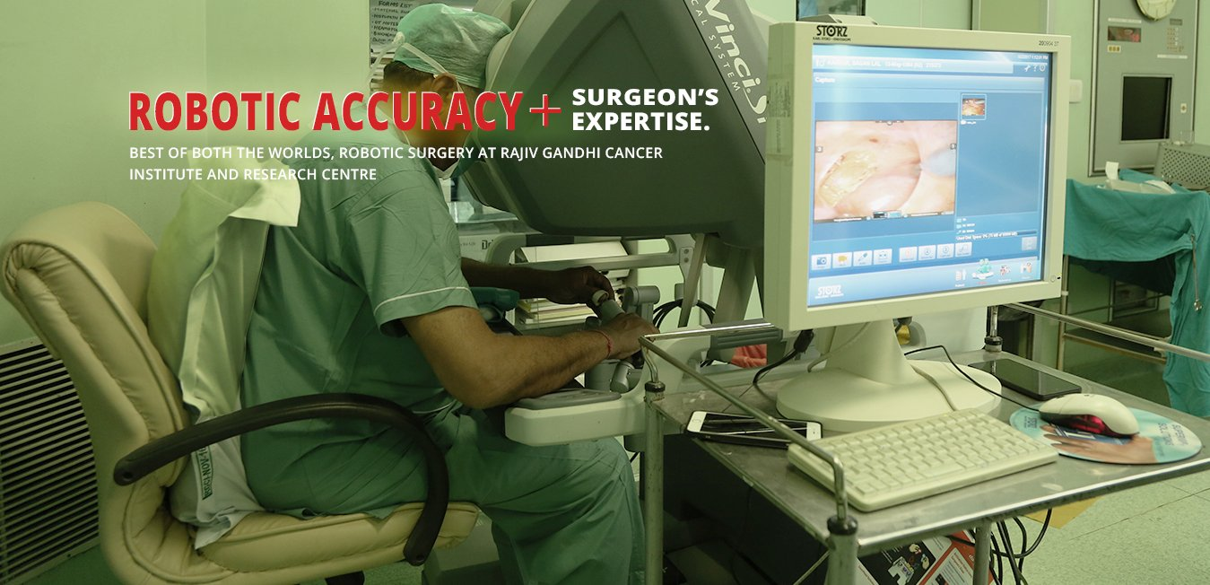 Top cancer hospital in India with robotic surgery