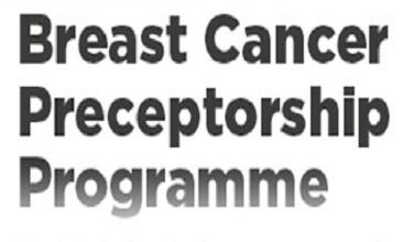Metastatic Breast Cancer Preceptorship