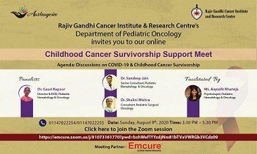 Childhood Cancer Survivorship Support Meet
